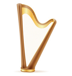 Harp stock vector