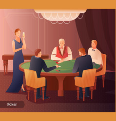 Casino and poker vector