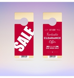Set of tags sale and special offer vector