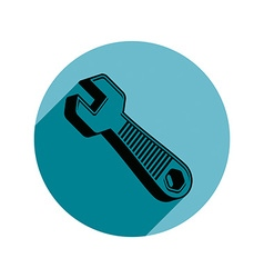 Classic wrench detailed work tool simple s vector