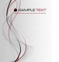 abstract background composition vector image vector image