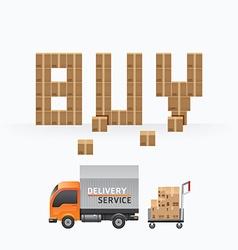 business box sale shape template designs vector image vector image