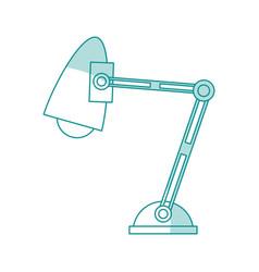Desk lamp design vector