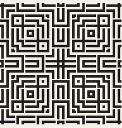 ethnic ornament native lines stylish print vector image