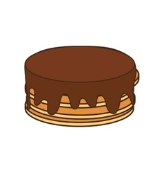 Pancakes breakfast food menu icon vector
