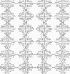 Slim gray horizontal marrakesh vector