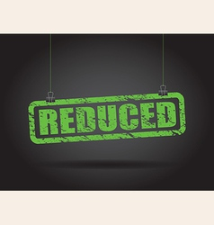 reduced green vector image