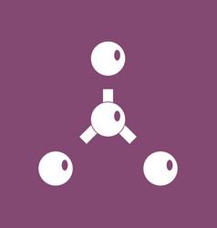 Icon atoms disconnection vector