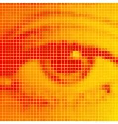The human eye close-up vector image