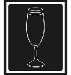 Wine cover vector