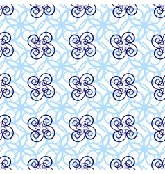 Seamless loght blue pattern vector