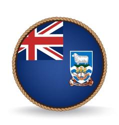 Falkland Islands Seal vector image vector image