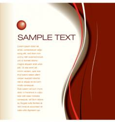 wave page vector image