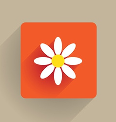 Flower Flat vector image vector image