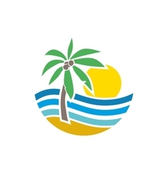 Logo marine vector