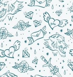 Tattoo pattern 2 vector image