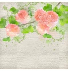 Watercolor creative background vector