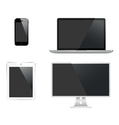 247 set of digital technology vector