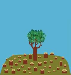 last tree vector image