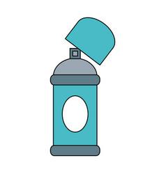 open aerosol can icon image vector image vector image
