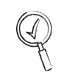 search find innovation research sketch vector image vector image