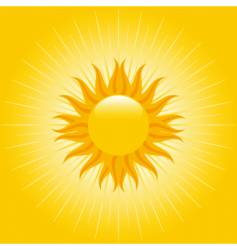 summer sky vector image vector image