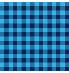Blue check textile seamless pattern vector