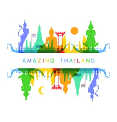 Amazing thailand vector