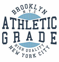Athletic grade vector
