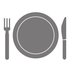 Fork and knife menu vector