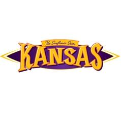 Kansas The Sunflower State vector image
