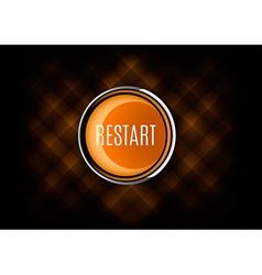 Restart button vector