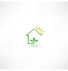 Eco green energy vector