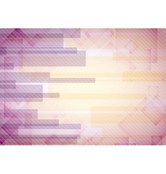 Abstract pink rectangle shapes background vector