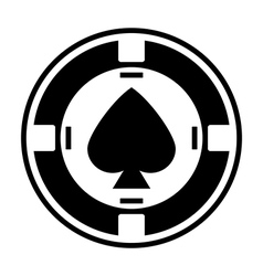 Casino chip vector