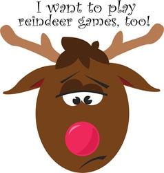 Reindeer games vector