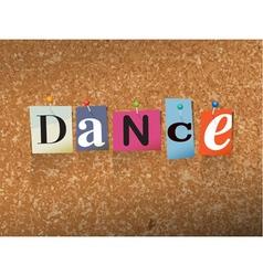 Dance concept vector
