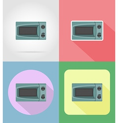 household appliances for kitchen 16 vector image