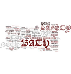 Bathaccessories text background word cloud concept vector