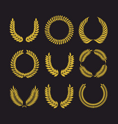Big set of wreath vector