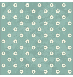 Retro spotty pattern vector image vector image