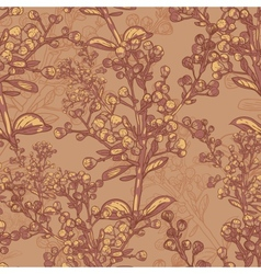 Vntage seamless pattern for retro wallpapers vector image vector image