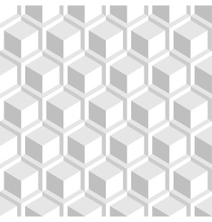 White decorative texture - seamless background vector image