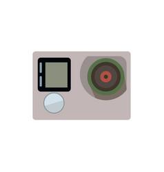 Camera action icon vector