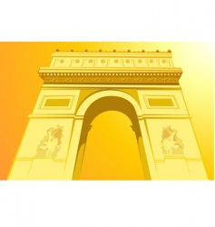 Champs elysees vector