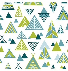 Strange journey - seamless pattern vector