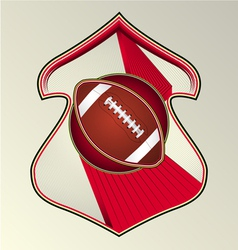 Gridiron football vector