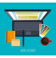 Web design development vector