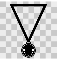 Medal icon  on transparent background vector