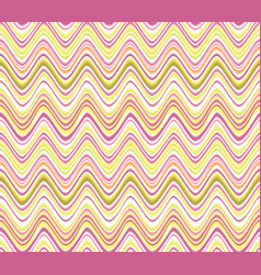 Abstract wave seamless pattern fabric zig zag vector